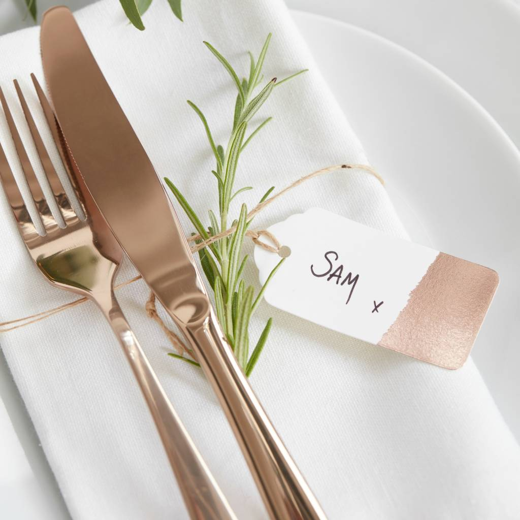 GINGERRAY Luggage Tag - Dipped Gold Foil