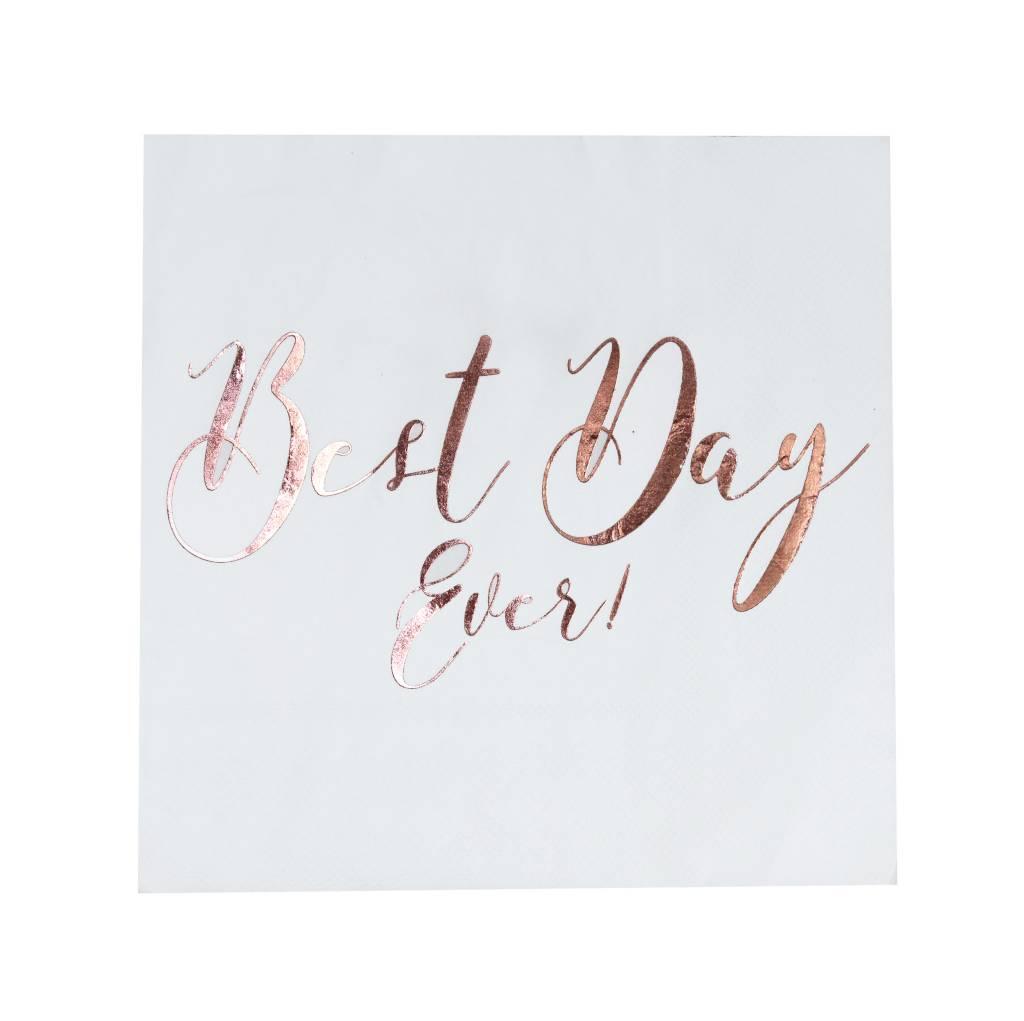 GINGERRAY Napkins - Best Day Ever