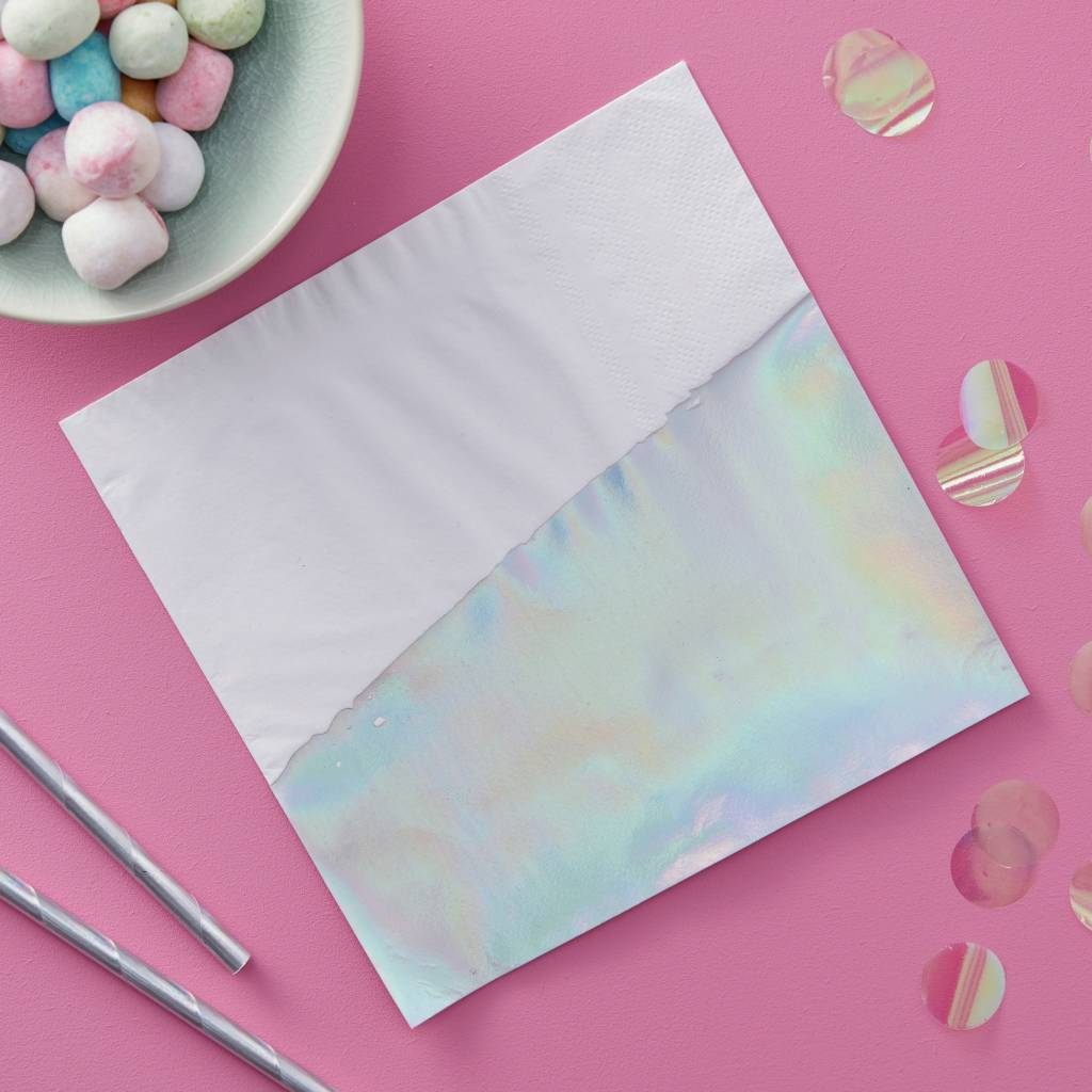 GINGERRAY Paper Napkin - Iridescent