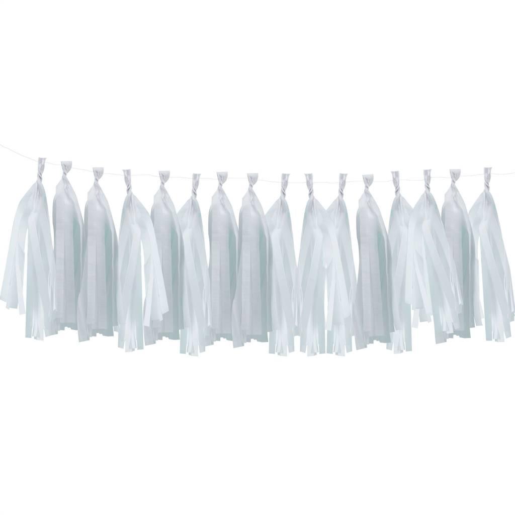 GINGERRAY Tassel Kit - White