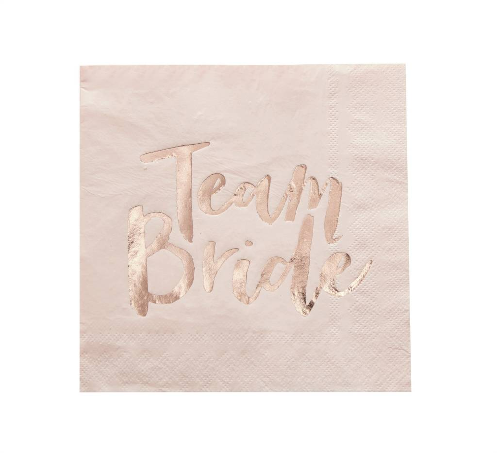 GINGERRAY Team Bride - Paper Napkins
