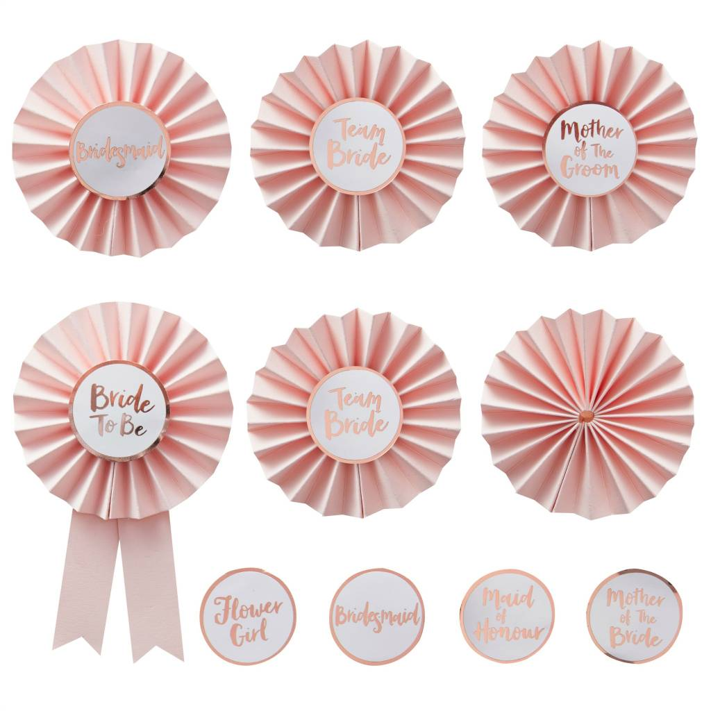 GINGERRAY Team Bride - Badges - Kit