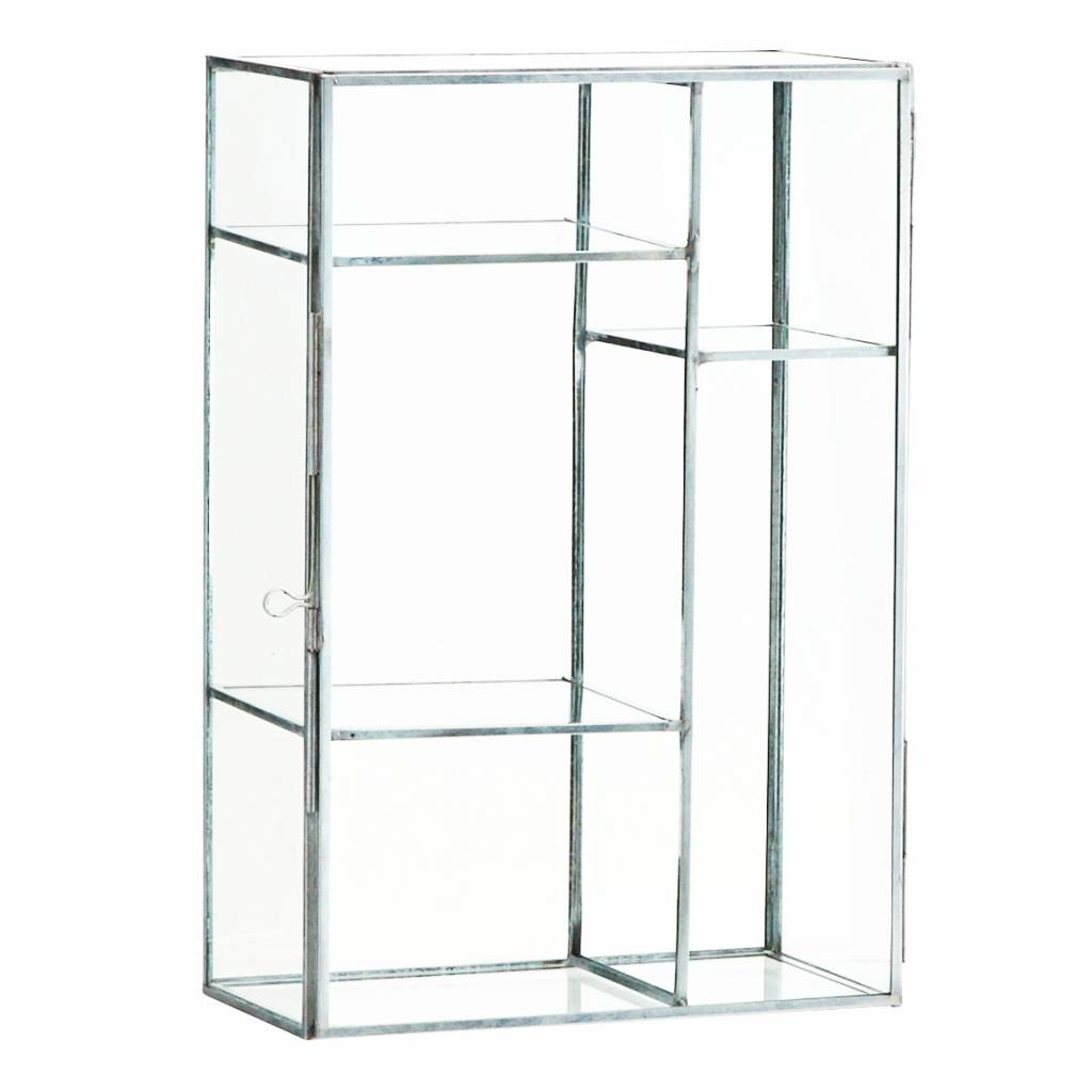 MADAM STOLTZ Rectangular glass box