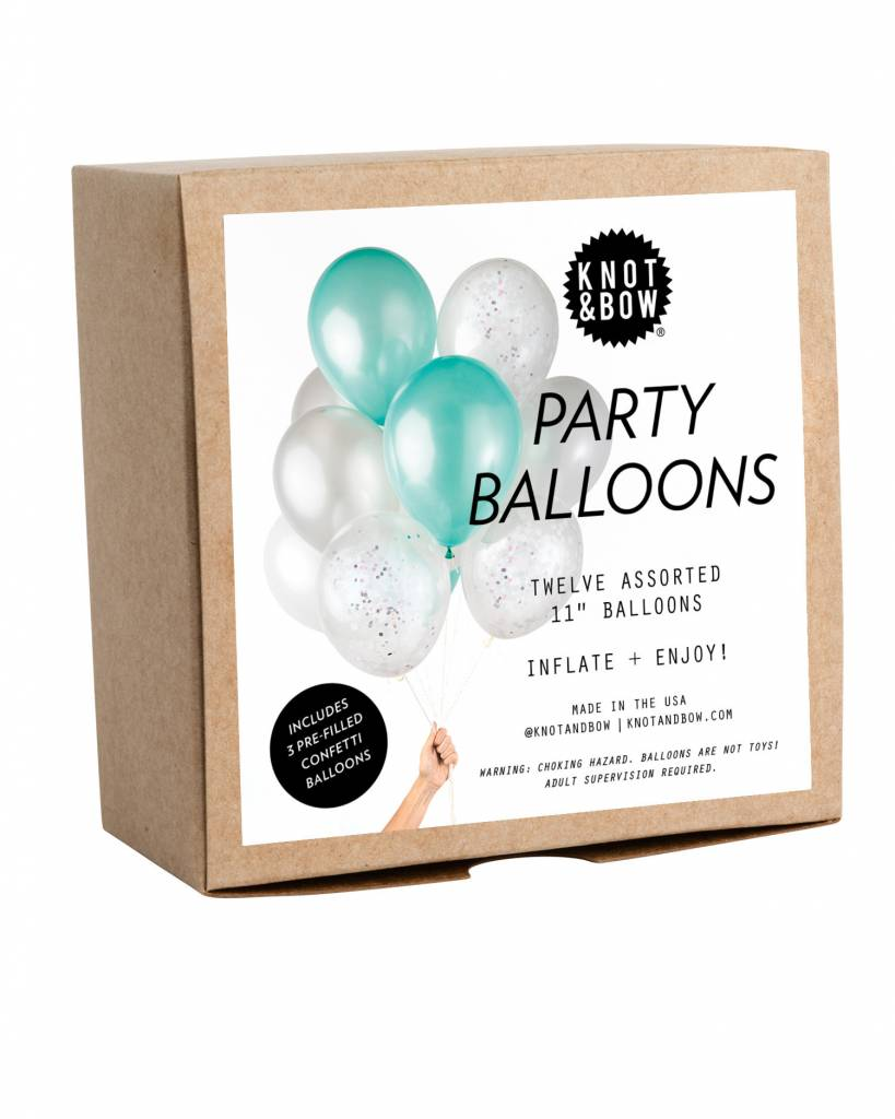 KNOT & BOW mermaid party balloons