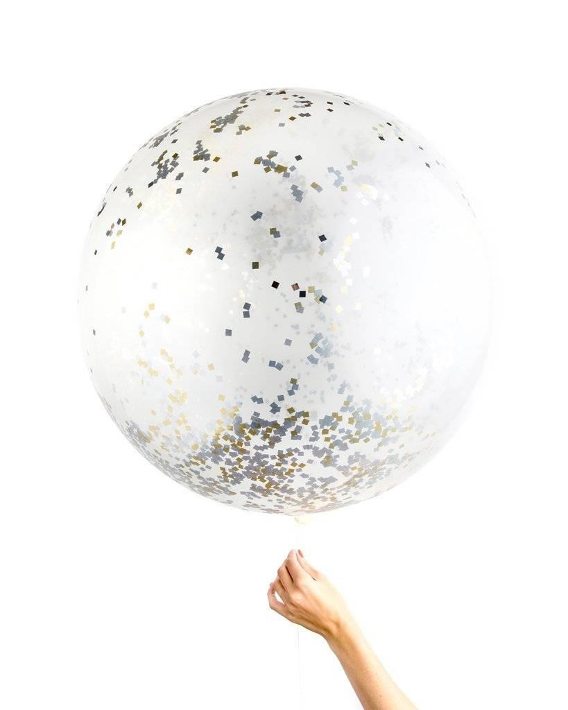 KNOT & BOW metallic jumbo confetti balloons