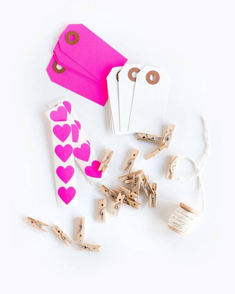 KNOT & BOW pink garland kit