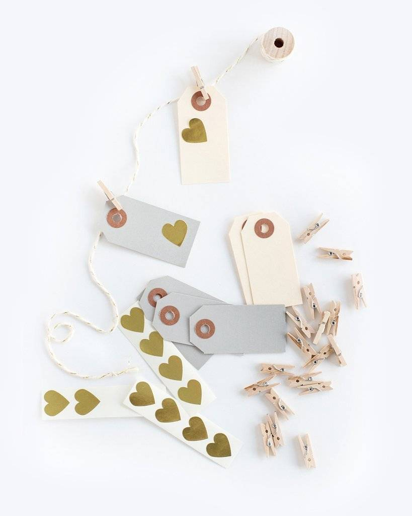 KNOT & BOW neutral garland kit