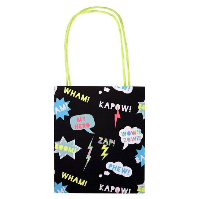 MERIMERI Zap! party bags