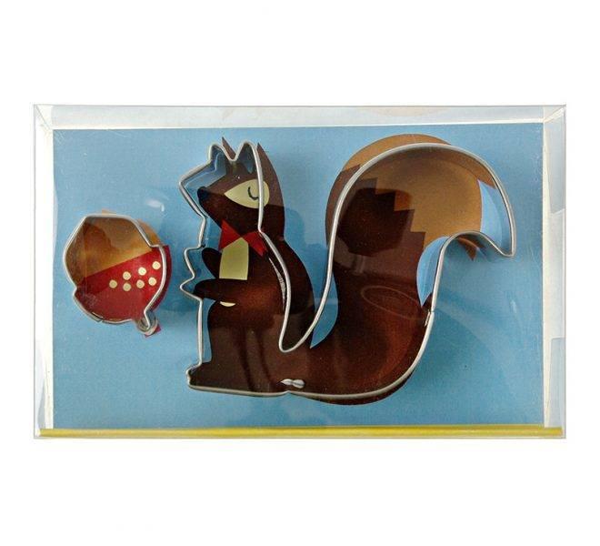 MERIMERI Squirrel and Nut Cookie Cutters