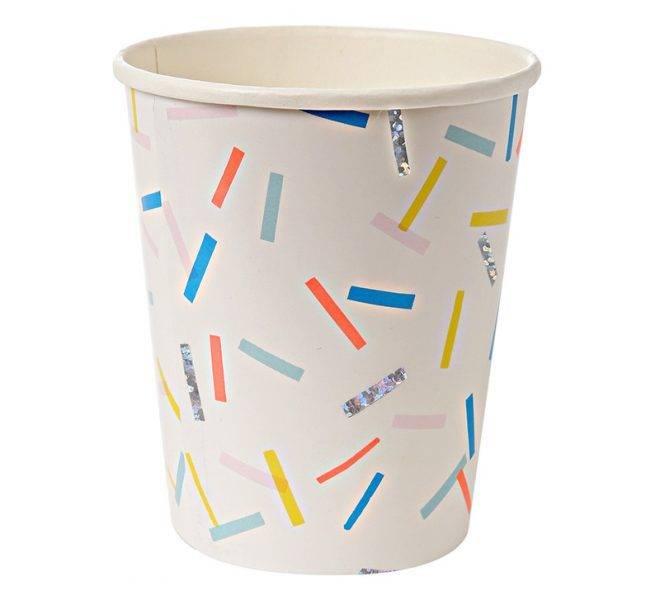 MERIMERI Sprinkles party cups