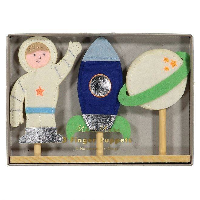 MERIMERI Space finger puppets