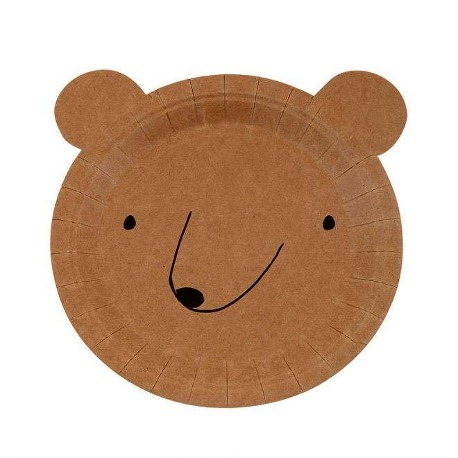 MERIMERI Small bear plates