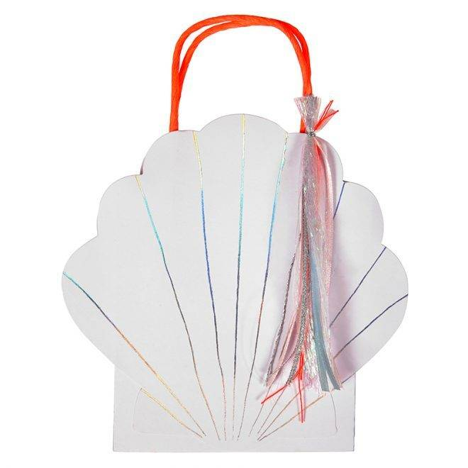 MERIMERI Shell party bags