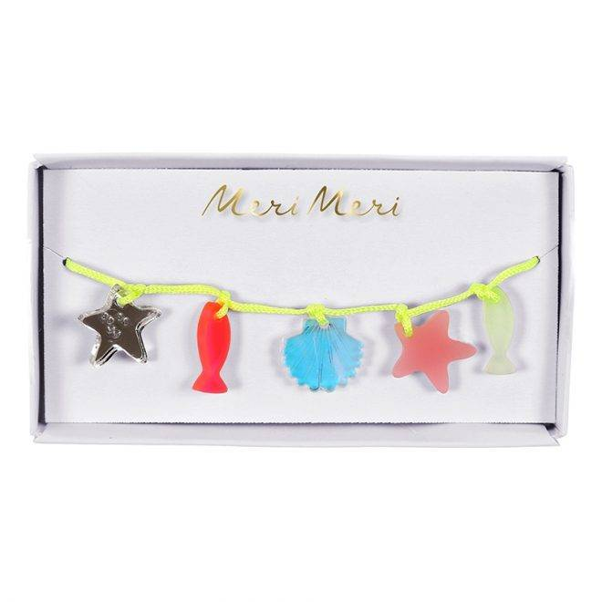 MERIMERI Sea creatures charm bracelet