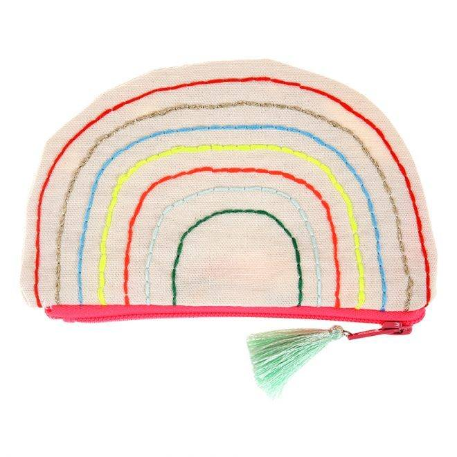 MERIMERI Rainbow pouch
