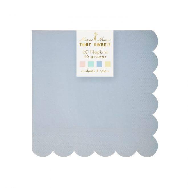 MERIMERI Pastel small napkins