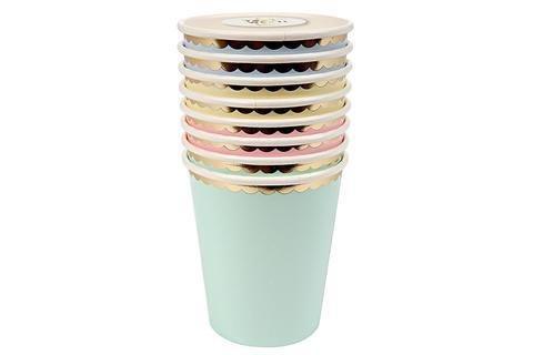 MERIMERI Pastel party cups