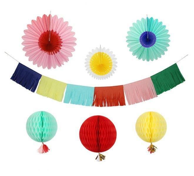 MERIMERI Multi coloured decorating kit