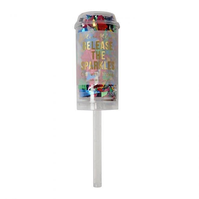 MERIMERI Multi colour confetti popper