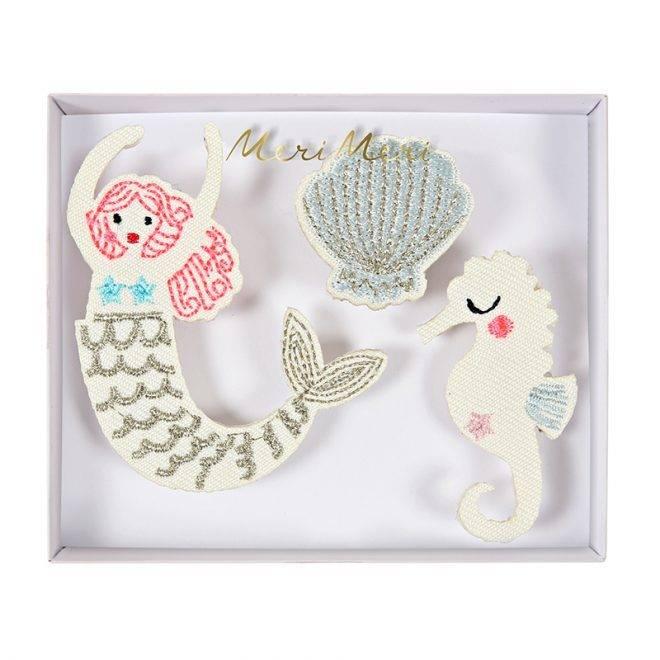 MERIMERI Mermaid brooches