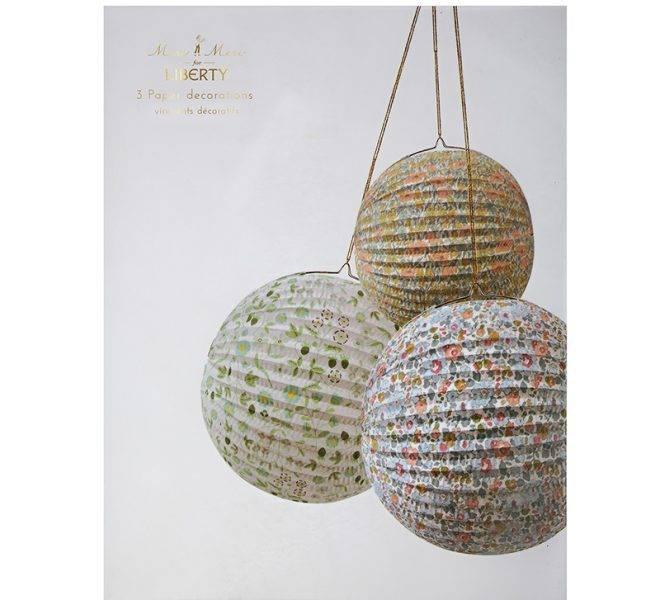 MERIMERI Liberty paper globes