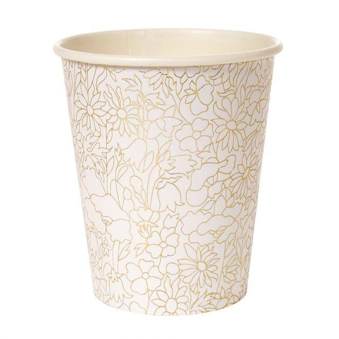 MERIMERI Liberty Betsy gold party cups