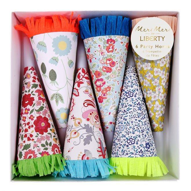 MERIMERI Liberty assorted party horns