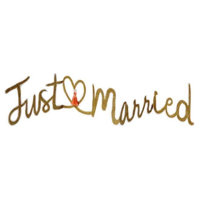 MERIMERI Just married card