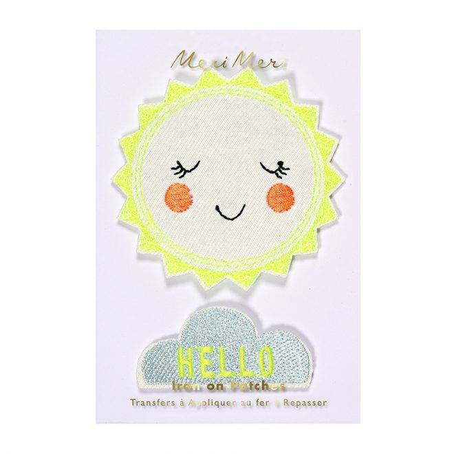 MERIMERI Hello sunshine patches