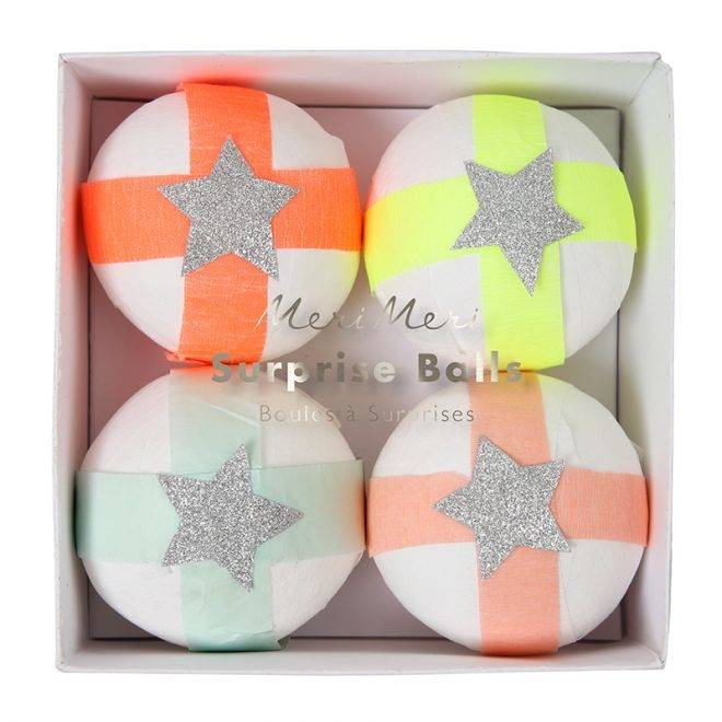 MERIMERI Glitter star surprise balls