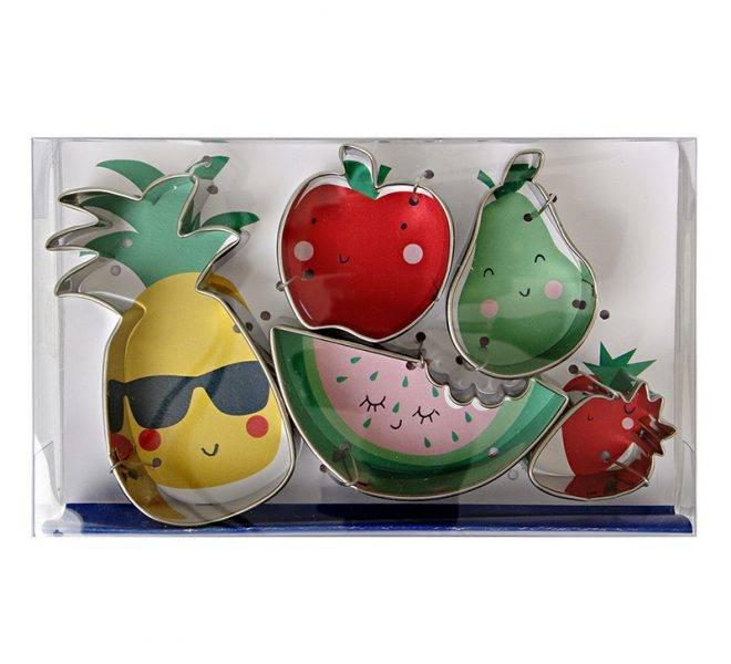 MERIMERI Fruit cookie cutters
