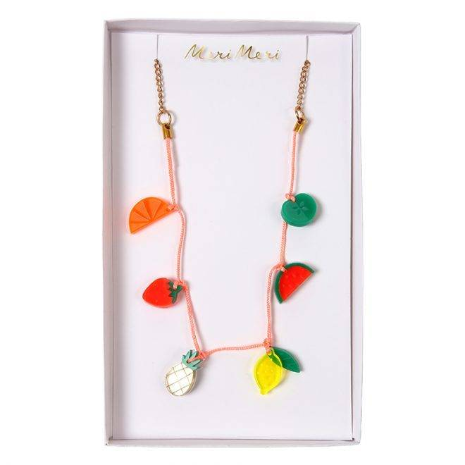 MERIMERI Fruit charm necklace