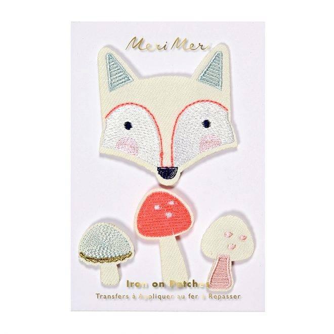 MERIMERI Fox patches