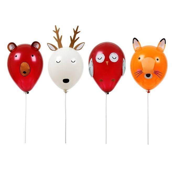 MERIMERI Forest animals balloon kit