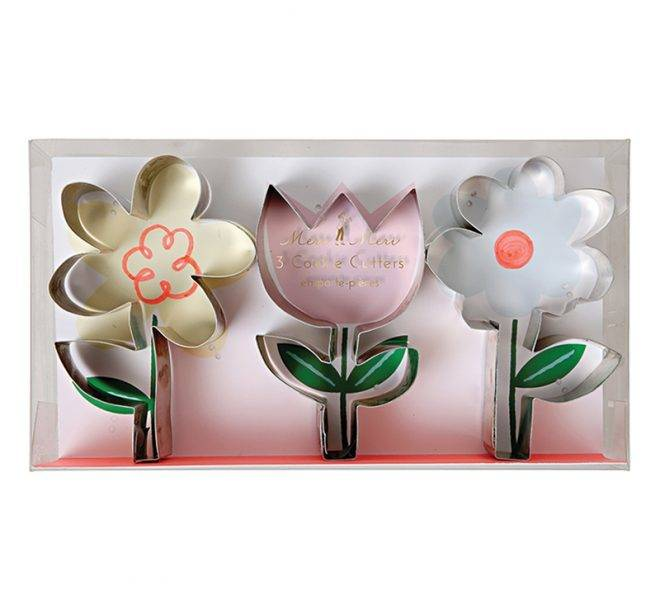 MERIMERI Flower cookie cutters