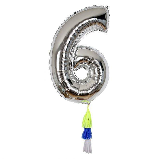 MERIMERI Fancy number balloon 6