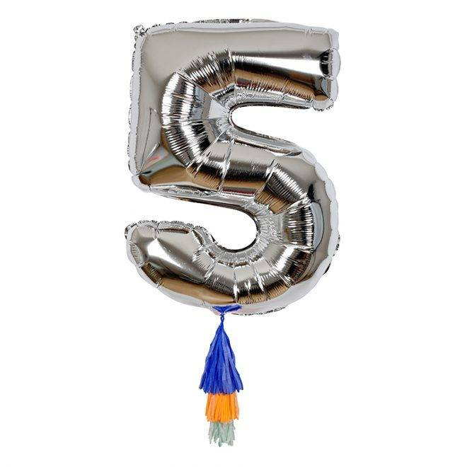 MERIMERI Fancy number balloon 5