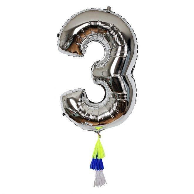 MERIMERI Fancy number balloon 3
