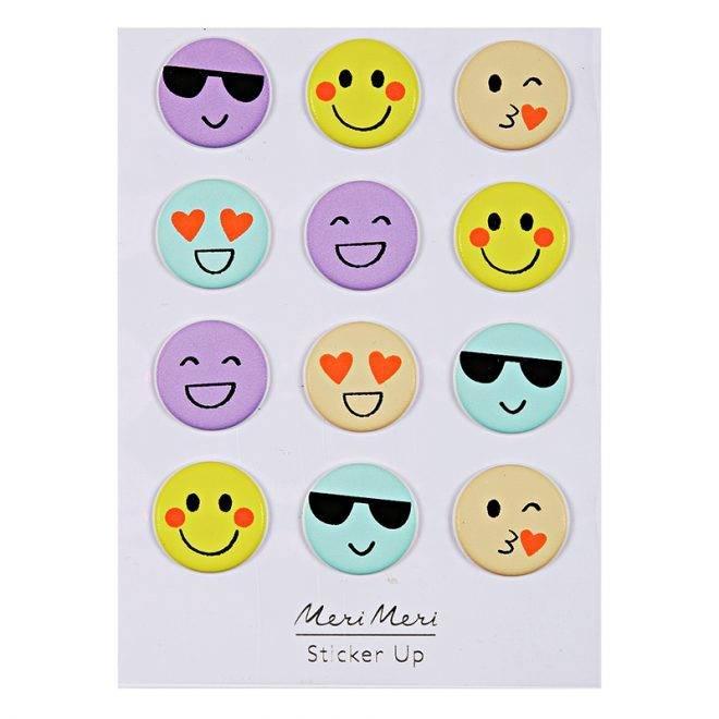 MERIMERI Emoji puffy stickers