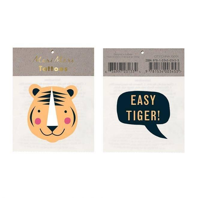 MERIMERI Easy tiger tattoos