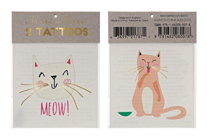 MERIMERI Cat tattoos