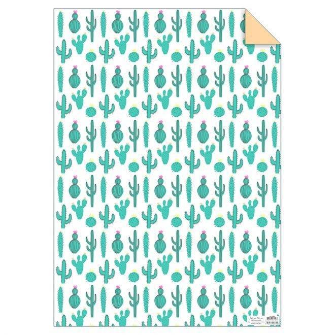 MERIMERI Cactus wrapping paper