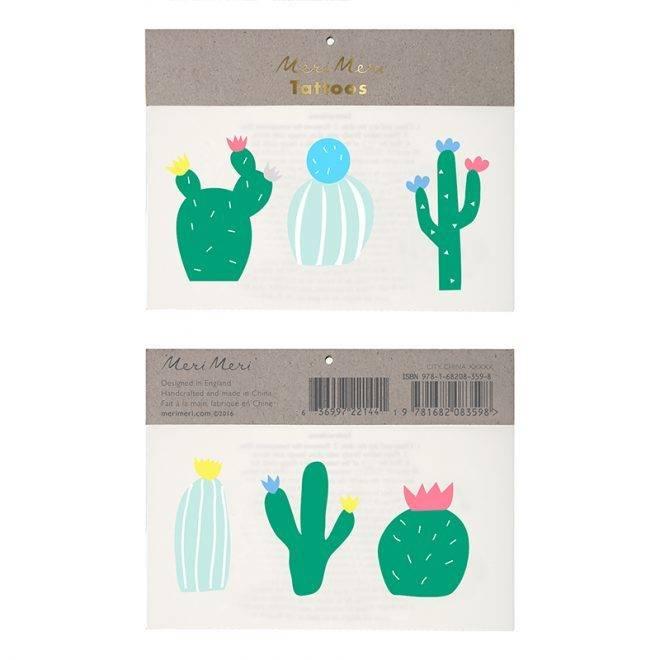 MERIMERI Cactus tattoos