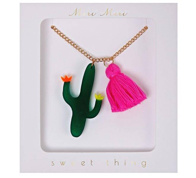 MERIMERI Cactus necklace
