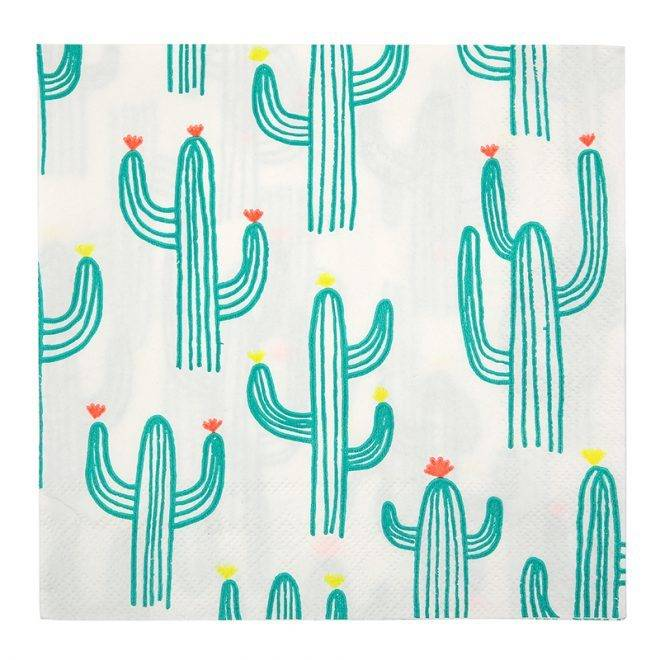 MERIMERI Cactus napkins