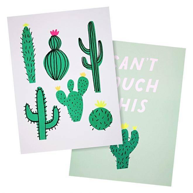 MERIMERI Cactus art prints