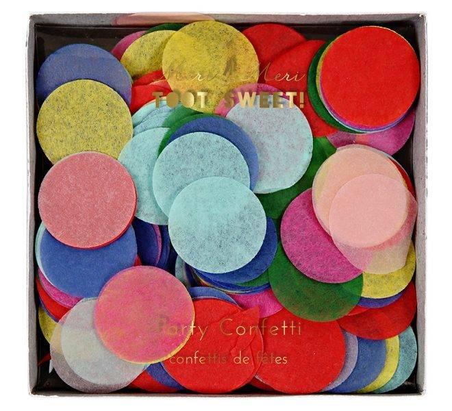 MERIMERI Bright party confetti