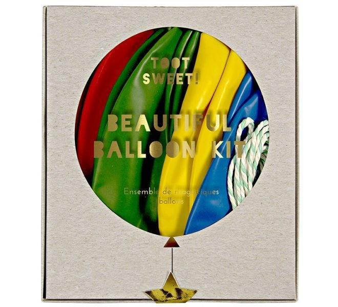 MERIMERI Beautiful balloon kit multicolour
