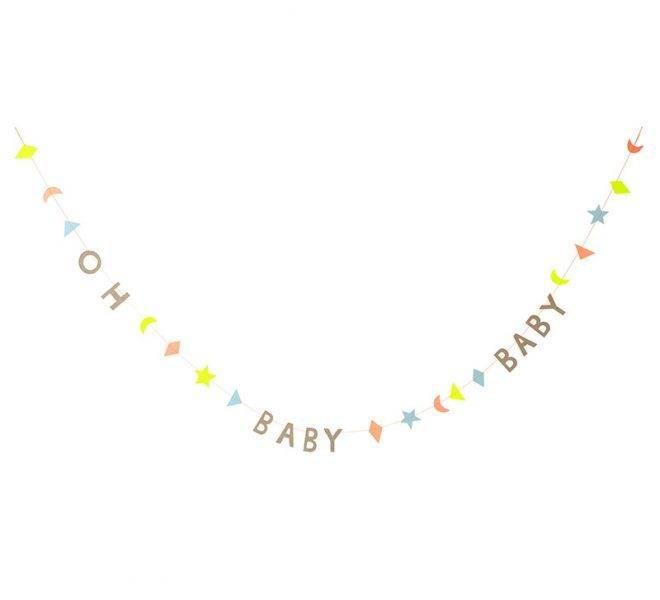 MERIMERI Baby mini garland