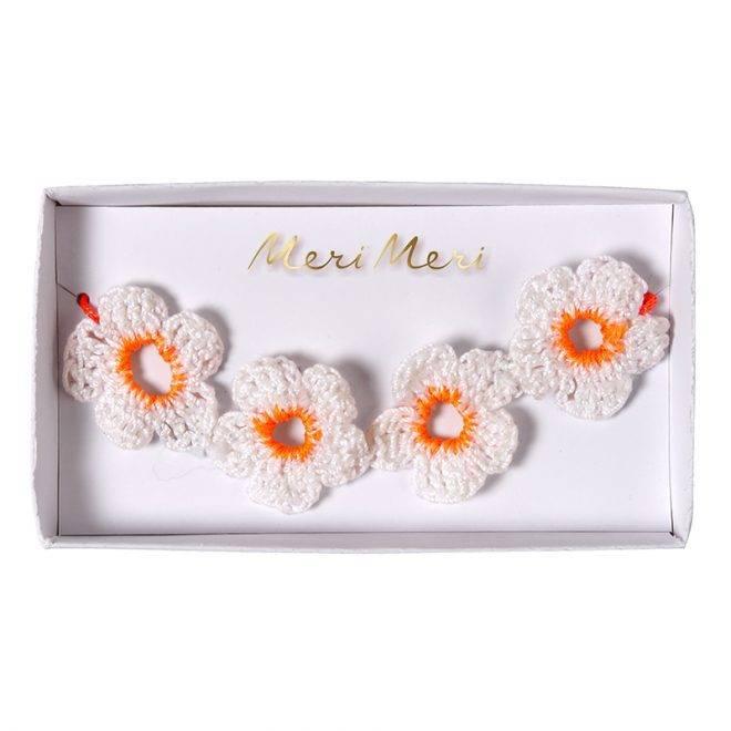 MERIMERI Crochet flower bracelet